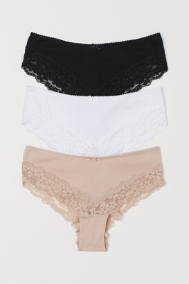 H&M 3-pack Cotton Hipster Briefs