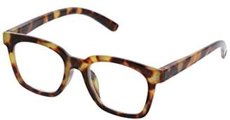 To The Max Peepers Women's 2516125 Square Reading Glasses