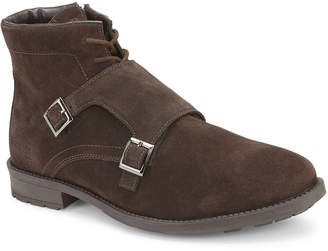 Reserved Footwear Men's Camolin Double-Monk Suede Boots