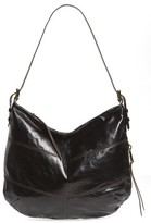 Hobo Serra Leather Bag - Black
