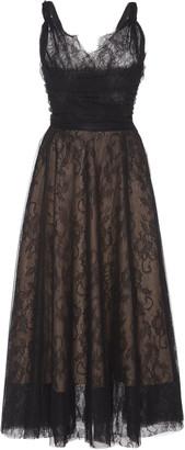 Rochas Chantilly Lace MidI Dress