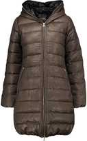 Duvetica Ace quilted wool and cashmere-blend down coat