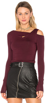 Bailey 44 Carla Top in Burgundy. - size S (also in )