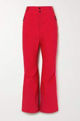 Bogner Fire & Ice Maila Striped Ski Pants - Red