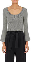 A.L.C. Women's West Striped Wool-Blend Crop Sweater