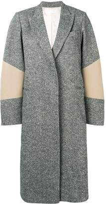 Victoria Beckham sleeve patch oversized coat