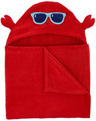 Carter's Baby Boy Crab Hooded Towel