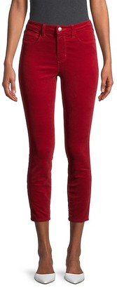 L'Agence Mid-Rise Cropped Jeans