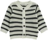 Imps & Elfs Striped Organic Cotton Cardigan
