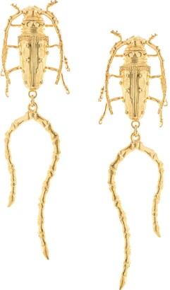 Natia X Lako Beetle with Legs earrings