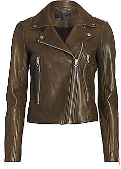 Rag & Bone Women's Mack Lamb Leather Moto Jacket
