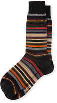 Pantherella Quaker Stripe Dress Socks
