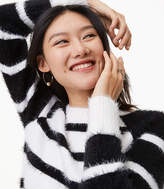 LOFT Monochrome Stripe Sweater