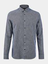 Burton Burton Long Sleeve Navy Cross Dobby Shirt