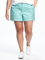 "Old Navy Mid-Rise Plus-Size Everyday Shorts (5"")"