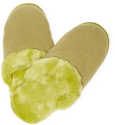 Portolano Cashemere, Wool & Faux Fur Slippers