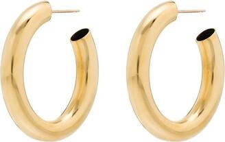 Laura Lombardi Mini Curve Hoop Earrings