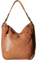 Elliott Lucca Cerise Bucket Hobo Hobo Handbags