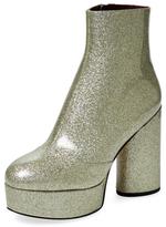 Marc Jacobs Amber Glitter Platform Boot