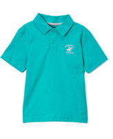 Beverly Hills Polo Club Spectra Green Jersey Polo - Toddler & Boys
