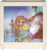 Precious Moments Disney Ariel LED Shadow Box