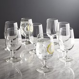 Crate & Barrel Boxed Water Goblets, Set of 8