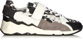 Pierre Hardy Comet Camocube-print low-top trainers