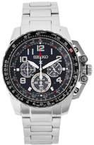 Seiko SSC275 Silver-Tone & Black Watch
