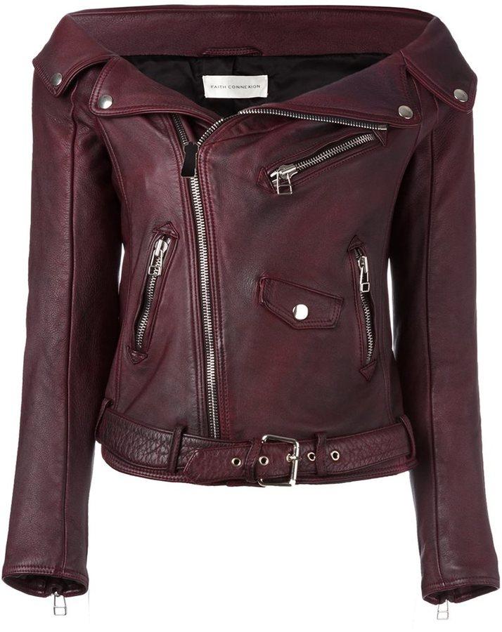 Faith Connexion 'Sailor' biker jacket