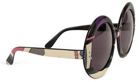 Pucci Oversize Print Sunglasses