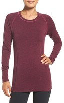 Zella Women's 'Chamonix' Long Sleeve Seamless Tee