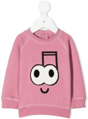 Stella McCartney Kids Smiley Detail Sweatshirt
