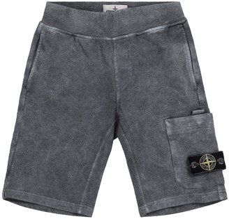 Stone Island Junior Cotton jersey shorts