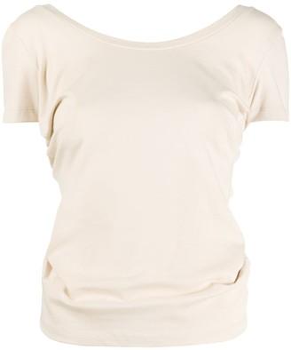 Jacquemus Le t-shirt Sprezza knotted T-shirt