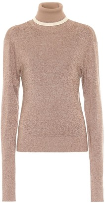 Chloé Wool and silk turtleneck sweater