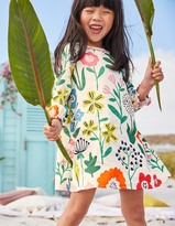 Boden Woven Printed Smock Dress