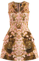 McQ by Alexander McQueen Rose petal-print dress