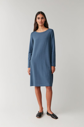 Cos Midi Elastic-Waist Dress