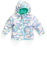 The North Face Infant Girl's Mossbud Swirl Reversible Water Repellent Jacket