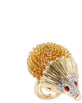 Kenneth Jay Lane Women's Hedgehog Ring
