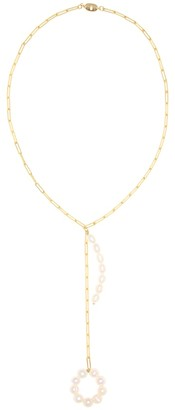 Timeless Pearly Pearl chain necklace