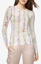 BCBGMAXAZRIA Agda Floral-Print Top