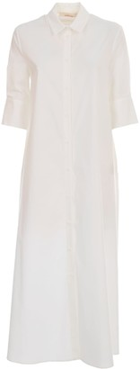 Liviana Conti Long Chemisier Dress 3/4s A Line
