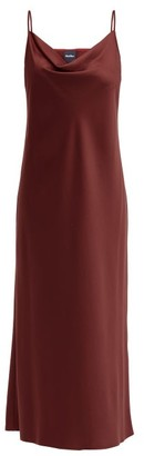 MAX MARA LEISURE Teoria Dress - Burgundy