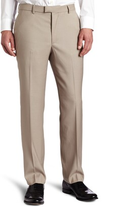 Perry Ellis Men's Big-Tall Portfolio Flat Front Bengaline Pant