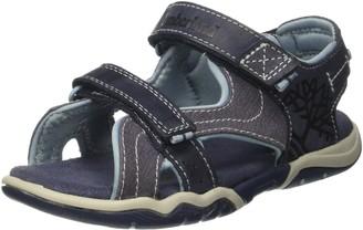 Timberland Park Hopper L/F 2 StrapBlack Iris Unisex-Child Open Toe Sandals Blue (Black Iris) 4 UK (37 EU)