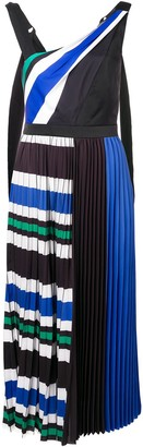 Three floor Stripe And Slay dress