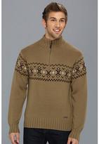 Exofficio Cafenisto 1/4 Zip Jacquard Sweater