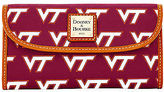 Dooney & Bourke NCAA Virginia Tech Continental Clutch