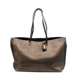 Fendi Roll Bag Gold Leather Handbags